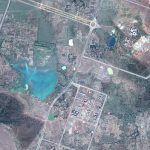 Aerial photo by Google