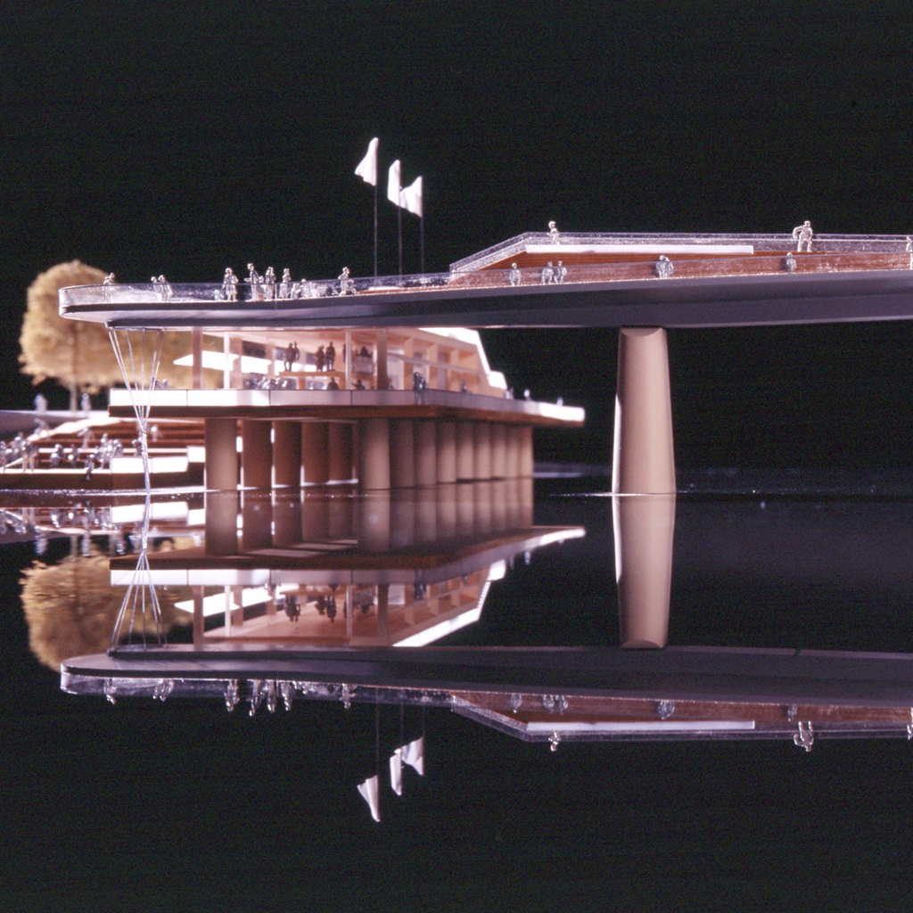 Model view of jetty